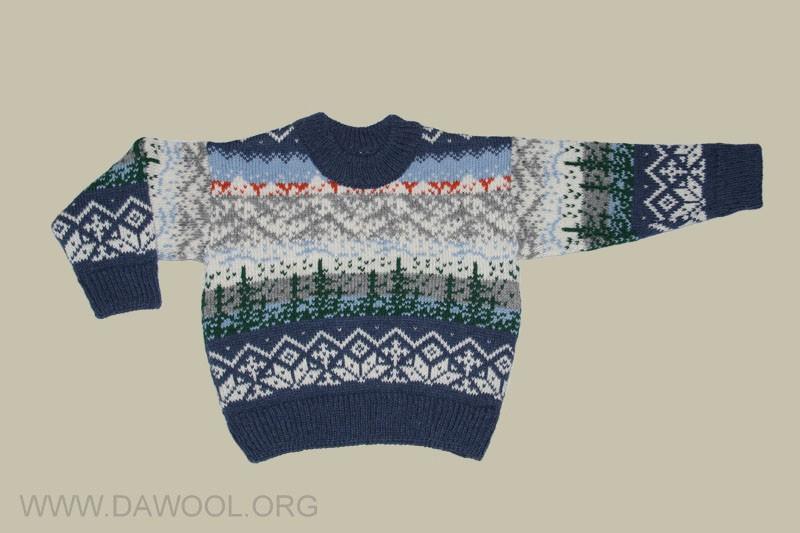 Детский свитер 32301