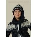 Шапка-шарф 44001